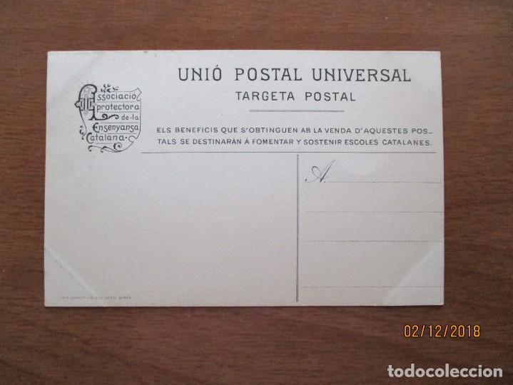 Postcards: 170. PLA DE LLOBREGAT. SANT PONS DE CORBERA. ESGLESIA - ASSOCIACIO PROTECTORA ENSENYANCA CATALANA - Foto 2 - 150994034