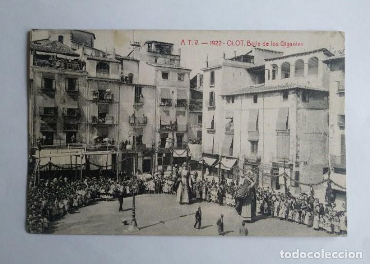 1922 Olot. Baile de gigantes. Ball de gegants - 139080090
