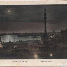 Postales: POSTAL PUERTA DE LA PAZ-BARCELONA 1931. Lote 151174478