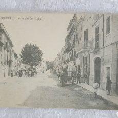 Postales: POSTAL FOTOGRAFICA EL VENDRELL CALLE DR ROBERT. Lote 151206688