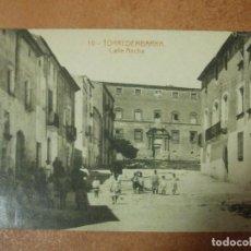 Cartes Postales: POSTAL DE TORREDEMBARRA CALLE ANCHA CARRER AMPLE - FOTOGRAFIA ANTIGUA DIARI TARRAGONA. Lote 156523556