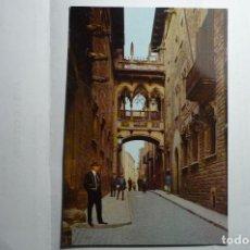 Postales: POSTAL BARCELONA -PALACIO DIPUTACION Y MOZO DE ESCUADRA--CIRCULADA. Lote 195549607
