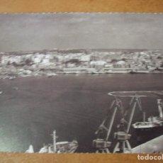 Postales: POSTAL DE VISTA GENERALDEL PORT DE TARRAGONA I LA CIUTAT - FOTOGRAFIA 1974 CHINCHILLA PUERTO. Lote 151326838