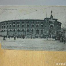 Postales: POSTAL 10 BARCELONA - ARENAS. PLAZA DE TOROS.. Lote 151486266