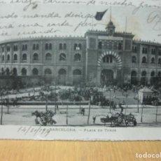 Postales: POSTAL 32 BARCELONA - PLAZA DE TOROS.. Lote 151488174