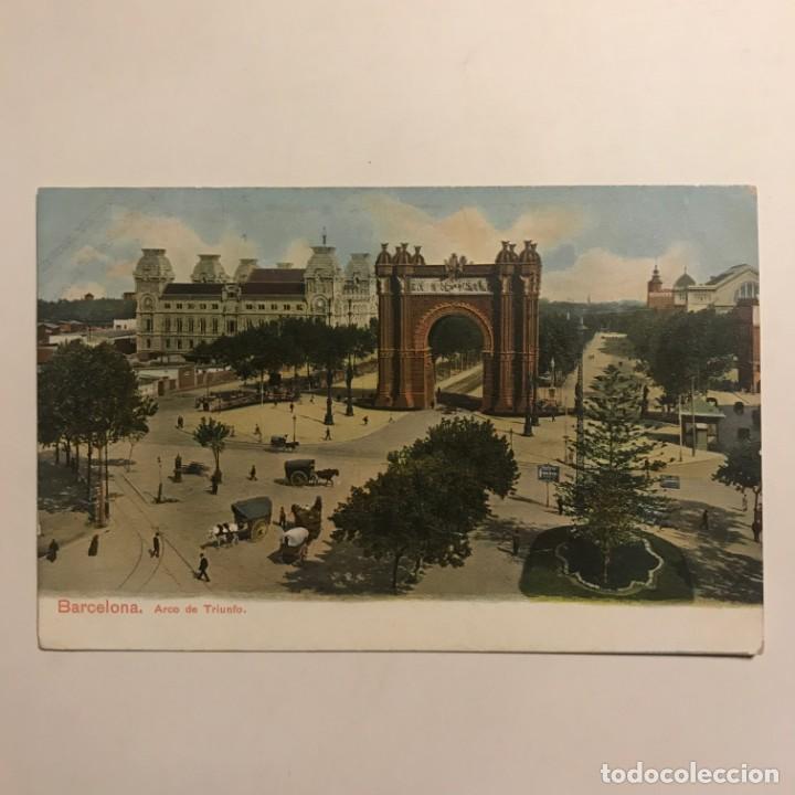 Postales: Barcelona. Arco del Triunfo - Foto 2 - 149274762