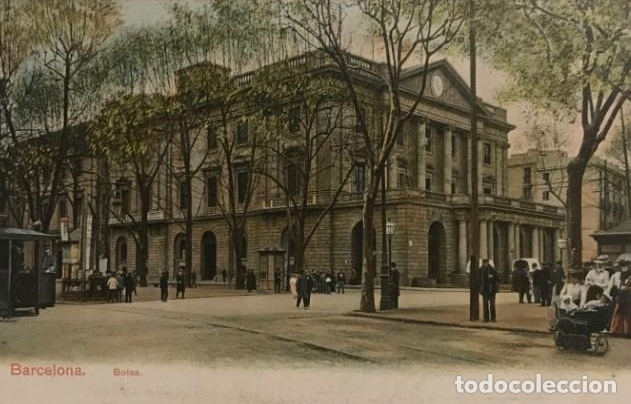 BARCELONA. LA BOLSA. POSTAL ORIGINAL (Postales - España - Cataluña Antigua (hasta 1939))