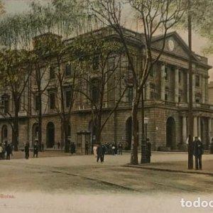 Barcelona. La Bolsa. Postal original