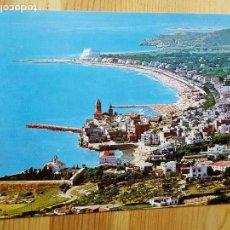 Postales: SITGES Nº 151 HERMOSO PERFIL DE SU VILLA FOTO J. UBACH PUIG. Lote 151576438