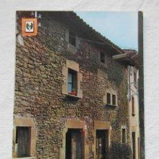 Cartoline: FOLGUEROLES 5518. GIRONA. CASA NATAL DEL POETA CATALA. MOSEN JACINT VERDAGUER. FISA. Lote 151582818