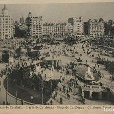 Postales: BARCELONA. PLAZA DE CATALUÑA. Lote 151999814