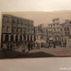 Postales: REUS PLAZA PRIM Nº 438 - ATV - ESCRITA AL DORSO SIN MATASELLOS. Lote 152035566