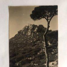 Postales: ARGENTONA (BARCELONA) POSTAL FOTOGRAFÍCA CASTILLO BURRIACH. EDITA: FOTO A. GUELL (H.1945?). Lote 152064673