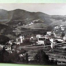 Postales: ORRIUS (BARCELONA). 5030 VISTA DESDE EL MIRADOR. FOT. PÉREZ. USADA CON SELLO. BLANCO/NEGRO. Lote 152132265