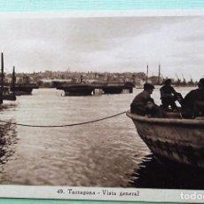Postales: TARRAGONA. 49 VISTA GENERAL. HUECOGRABADO MUMBRÚ. NUEVA. BLANCO/NEGRO. Lote 152132441