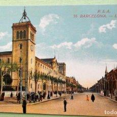 Postales: BARCELONA. 27 AVENIDA DEL TIBIDABO. ROVIRA-S.A.NUEVA. COLOR. Lote 152132473