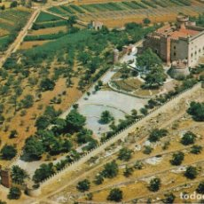 Postales: CASTELLDEFELS, VISTA AEREA DEL CASTILLO, BARCELONA. Lote 152202710