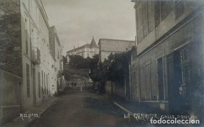 1910 LA GARRIGA. CALLE BONAIRE. POSTAL CIRCULADA EN 1910 (Postales - España - Cataluña Antigua (hasta 1939))
