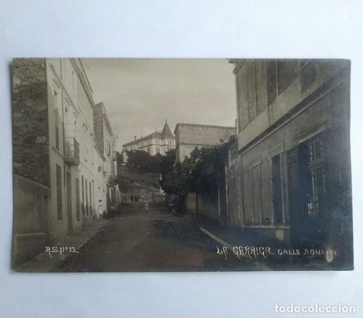 Postales: 1910 La Garriga. Calle Bonaire. Postal circulada en 1910 - Foto 2 - 139086514