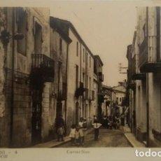 Postales: SANT ANTONI DE VILAMAJOR. CARRER NOU. C. MAURI. SIN CIRCULAR. Lote 140841598