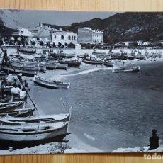 Postales: TOSSA DE MAR COSTA BRAVA SERIE 5 Nº 156 VISTA DE LA PLAYA DESDE EL RECO FOTO J. CEBOLLERO. Lote 152393654