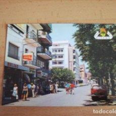 Postales: PINEDA DE MAR ( BARCELONA ) PASEO DE LAS MELIAS. Lote 152848414