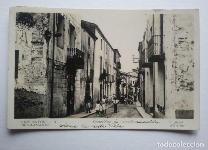 Postales: 1944 Sant Antoni De Vilamajor. Carrer Nou. C. Mauri. Circulada - Foto 2 - 140851302