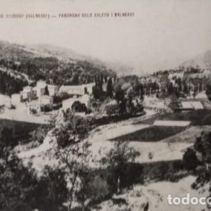 Vallfogona de Riucorb. Balneari. Panorama dels xalets i balneari