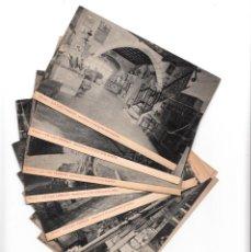 Postales: 10 POSTALES DE SITGES - LO CAU FERRAT DE SANTIAGO RUSIÑOL. Lote 153372566