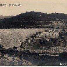 Postales: POSTAL FOTOGRAFICA RIUDECAÑAS - RIUDECANYES (TARRAGONA) EL PANTANO - SIN CIRCULAR. Lote 153372938