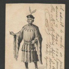 Postales: MOSSEN BORRA-ANTONI TALLANDER-CIUTADA DE BARCELONA 1360·1446-REVERSO SIN DIVIDI-(57.401). Lote 153395506