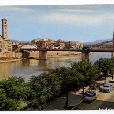 Postales: TORTOSA EL EBRO A SU PASO POR LA CIUDAD 1968 GARRABELLA Nº21 SIATA 600 FORMICHETTA. Lote 153667086