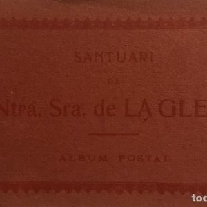 Antiguo taco de postales Santuari de Ntra. Sra. de La Gleva ATV - Provincia de Barcelona