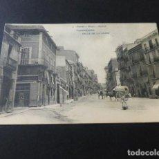 Postales: TARRAGONA CALLE DE LA UNION HAUSER Y MENET REVERSO SIN DIVIDIR. Lote 153740094