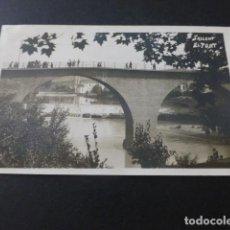 Postales: SALLENT BARCELONA EL PONT POSTAL FOTOGRAFICA. Lote 154339530