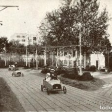 Postales: BARCELONA-TURÓ PARK- AUTO RUND. Lote 154467182