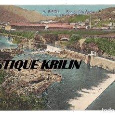 Postales: RIPOLL Nº 9 REC DE CAN GUETAS .- L. ROISIN . Lote 154843922