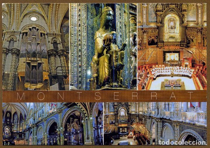 POSTAL CEDOSA ESCUDO DE ORO - MONTSERRAT 2010 (Postales - España - Cataluña Moderna (desde 1940))