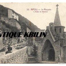 Postales: RIPOLL Nº 22 LA ROQUETA .- L. ROISIN . Lote 154848866