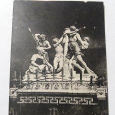 Postales: POSTAL 9. TARRAGONA - VIERNES SANTO - PASO ''LA FLAGELACIÓN'' - SINDICATO DE INICIATIVAS. Lote 154858378