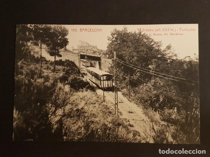 BARCELONA TIBIDABO FUNICULAR (Postales - España - Cataluña Antigua (hasta 1939))