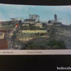 Postales: BARCELONA CUMBRE DEL TIBIDABO. Lote 155058950