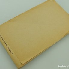 Postales: CARTILLA CON 18 POSTALES BLANCO Y NEGRO BARCELONA L.ROISIN. Lote 155237062