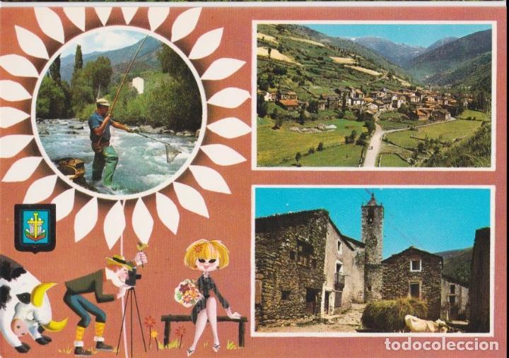 SETCASES (GIRONA) BONICS PAISATJES - ESCUDO DE ORO Nº 3353 - EDITADA EN 1967 - S/C (Postales - España - Cataluña Moderna (desde 1940))