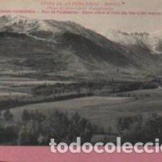 Cartoline: POSTAL LINEA DE AX - PUIGCERDA - RIPOLL - OBRAS DEL FERROCARRIL . Lote 155389454