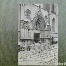 Postales: POSTAL BARCELONA-IGLESIA DE LA VIRGEN DEL MAR-HAUSER Y MENET. Lote 155431782