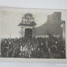 Postales: ANTIGUA FOTOGRAFÍA POSTAL - CARDEDEU - VISTAS - CIRCULADA - CUÑO DE BAÑOLAS (BANYOLES) - AÑO 1914. Lote 155735066