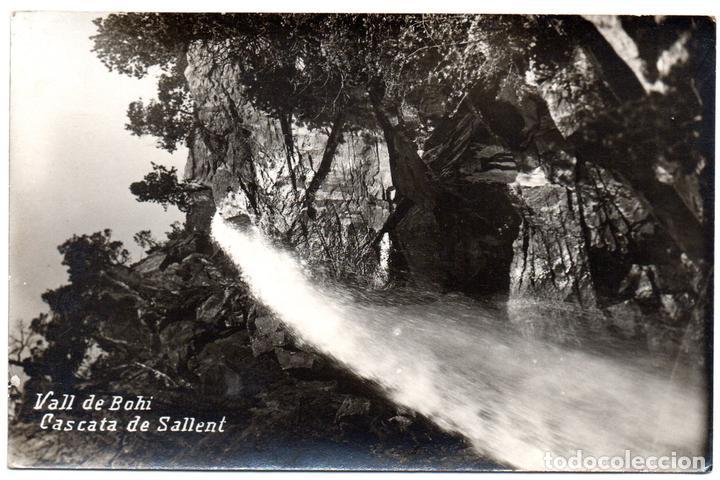 PS8135 VALL DE BOHÍ 'CASCATA DE SALLENT'. FOTOGRÁFICA. SIN CIRCULAR. PRINC. S. XX (Postales - España - Cataluña Antigua (hasta 1939))