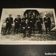 Postales: ANDORRA POLICIA ANDORRANA E. CLAVEROL FOTOGRAFO. Lote 155791218