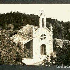 Postales: SAN HILARIO SACALM (GIRONA) 47 ERMITA NIÑO JESUS - CIRCULADA - ED. BOSCH - CATALUNYA SANT HILARI. Lote 155979378